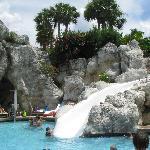 slide @ Hyatt pool