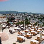 outdoor restaurant - brilliant view