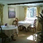 Pretty Guest Dining Room