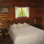 Master bedroom of our cabin