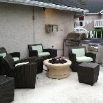 Grill and Patio area
