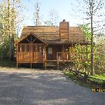 Foto de Country Pines Log Home Resort