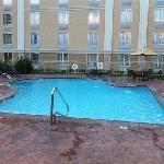 resort style pool. loved it!