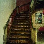 stairs in the hotel (there are also lifts)