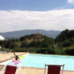 idealic tuscan view
