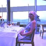 Wife´s 50th birthday anniversary dinner at Lindos Blu Five Senses restaurant