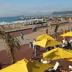 Beach front restaurant! fantastic spot