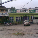 Oasis cafe exterior view