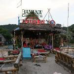 """""""The Indian"""" Bar on the beach front"""