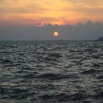 Last sunset in izmir.