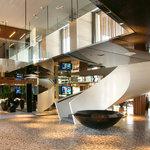 Stylish lobby.