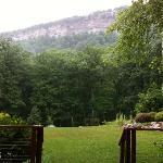 View (rainy day)