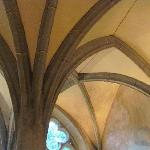 sachristy vaulted ceiling