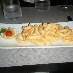 Stay restaurant calamari