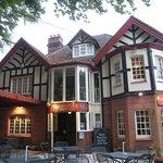 Entrance to the Burley Inn