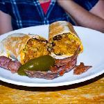 The best burrito ever!