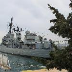 USS Eldridge (now the Leon)