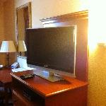 Nice TV and DVD player