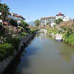 The canal outside Mitos