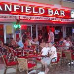 Anfield bar in soccer street
