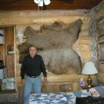 Bob in the Old Faithful Room at the Robin's Nest Bed and Breakfast