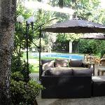 Hotel Rio Bidasoa Courtyard