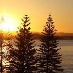 Sun set from the balcony