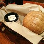 warm, fresh baked bread