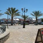 Elounda harbour and square -  outside hotel