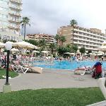 View from my sunbed