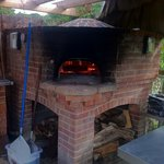 Pizza oven for Sunday night pizzas in the garden