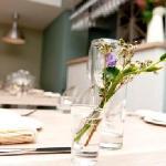 Aniar table setting - Galway Restaurant