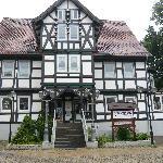 Café antique in diesem schönen Haus in Bad Grund/Harz