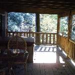 The porch again.