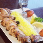 My dinner! (Juje kabob)
