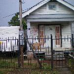 Shotgun House W/FEMA Trailer (Ninth Ward)