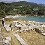 Ruins at Aliki