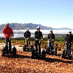 Segway riding in the Elgin Valley
