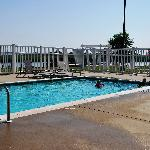 The waterfront pool!
