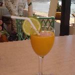 Lovely refreshing drinks from hotel bar