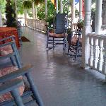 the rocking chair front porch