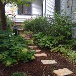 adorable side garden