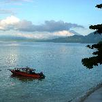 View of Sulawesi mainland