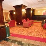 The lobby area.