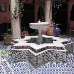 The Courtyard fountain