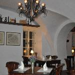 Part of the Chateau restaurant.