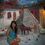 Muro en Hotel Tazumal