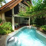 Cabana with own pool
