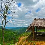 A hut atop a hill near Mae Salong