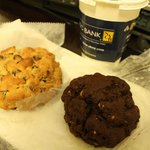 Chocolate Chip Walnut & Double Chocolate Peanut Butter Cookies